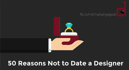 50 Reasons Not Date Designer | Ajay Kumar Pandey author