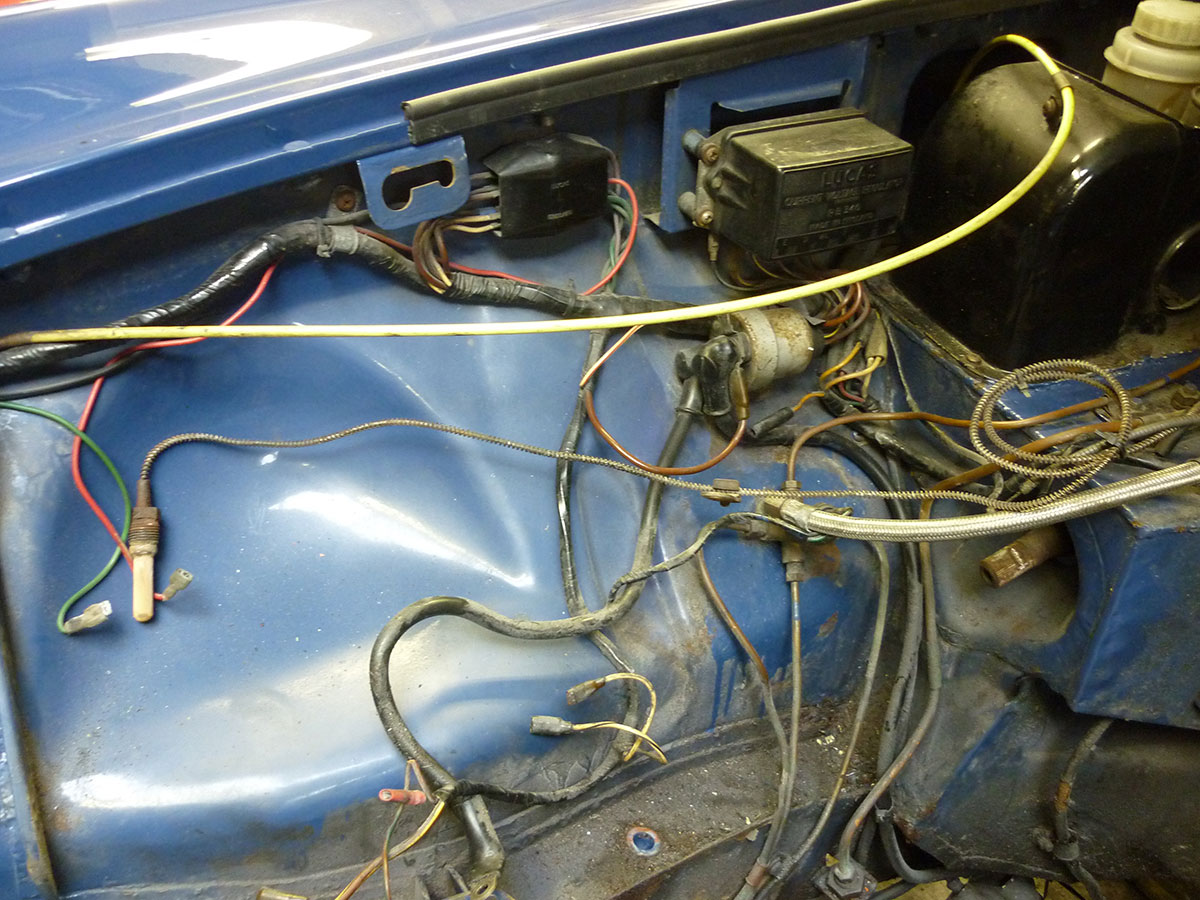 Contemporary Mgb Wiring Diagram Simple Detail Ideas Example Best ...