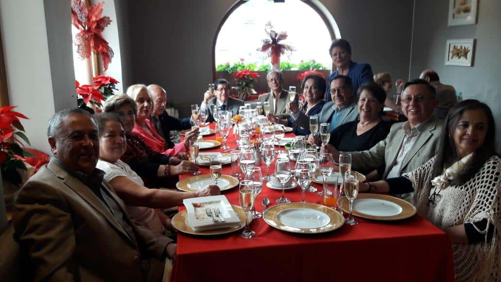 Christmas Lunch at the Ecuador Chapter