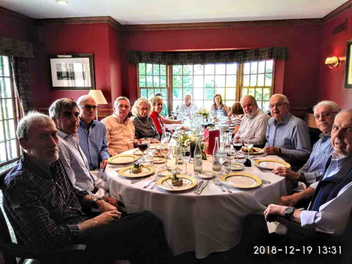 New Years Lunch of the Uruguay Chapter 2018