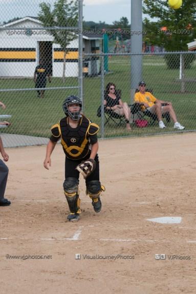 Softball Varsity Vinton-Shellsburg vs Clear Creek Amana 2014-5062