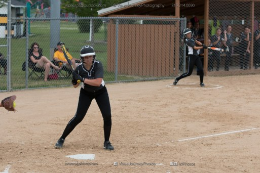 Softball Varsity Vinton-Shellsburg vs Clear Creek Amana 2014-5141