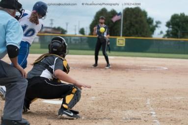 Softball Varsity Vinton-Shellsburg vs Clear Creek Amana 2014-5174