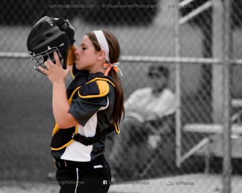 Softball Varsity Vinton-Shellsburg vs Clear Creek Amana 2014-