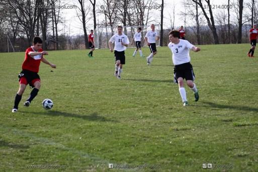 Boys Soccer - CPU vs Western Dubuque-4455