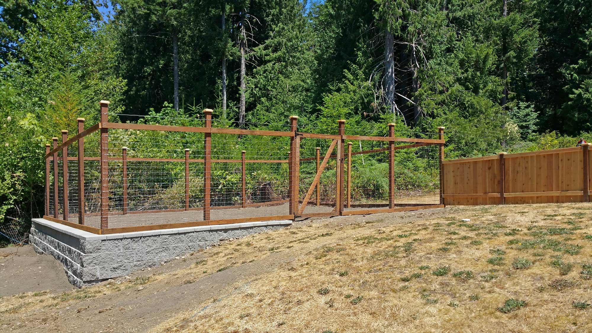 Deer Proof Electric Fence Fine Gardening