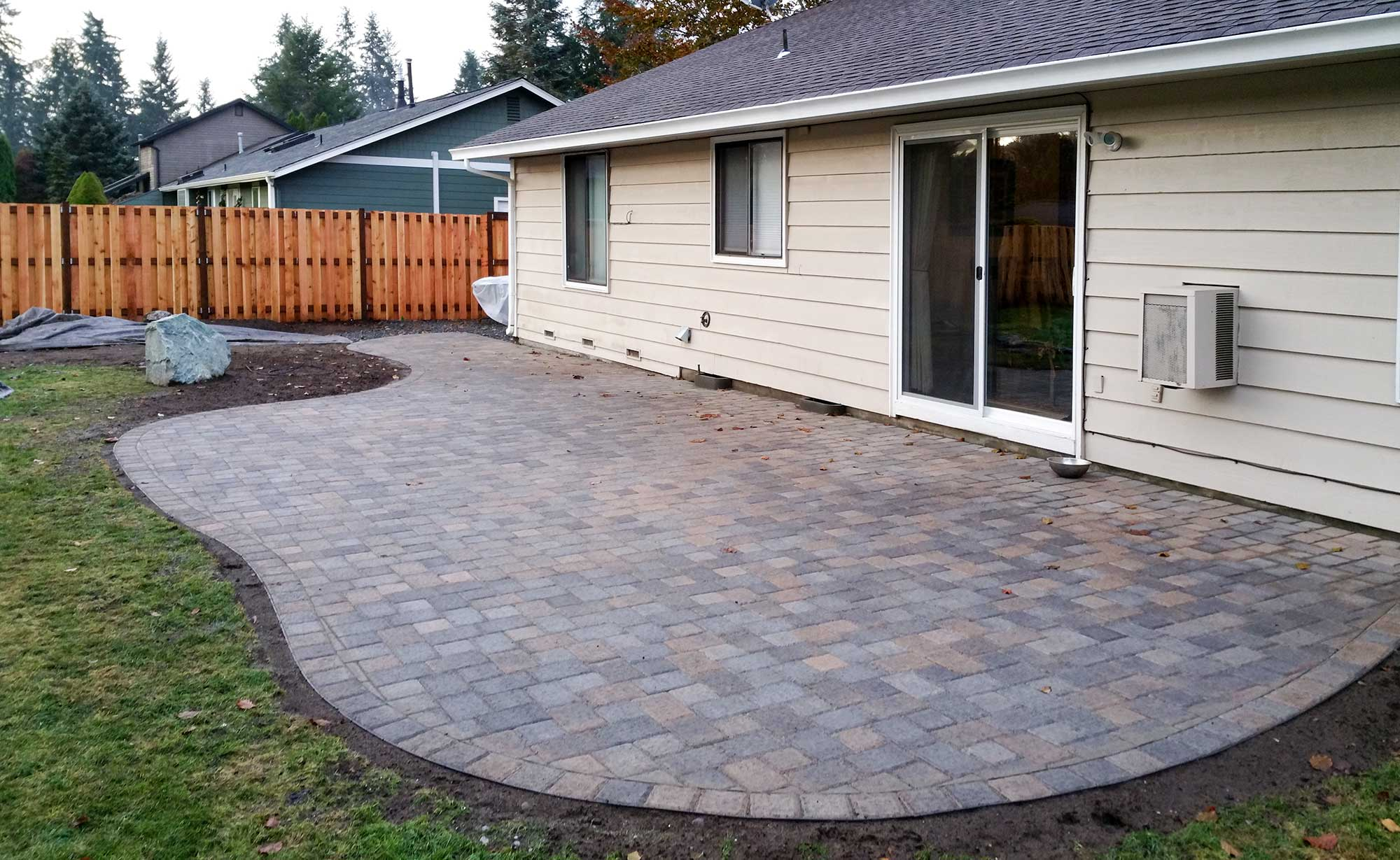 Concrete And Paver Patio Installation In Olympia And