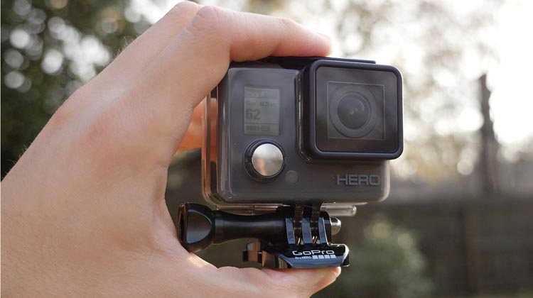 The GoPro Hero is a tiny, tough camera