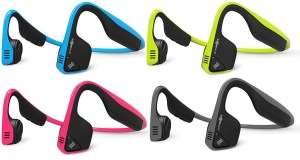 You can now buy Aftershokz Trekz Titanium in blue, ivy green, slate grey, AND pink!