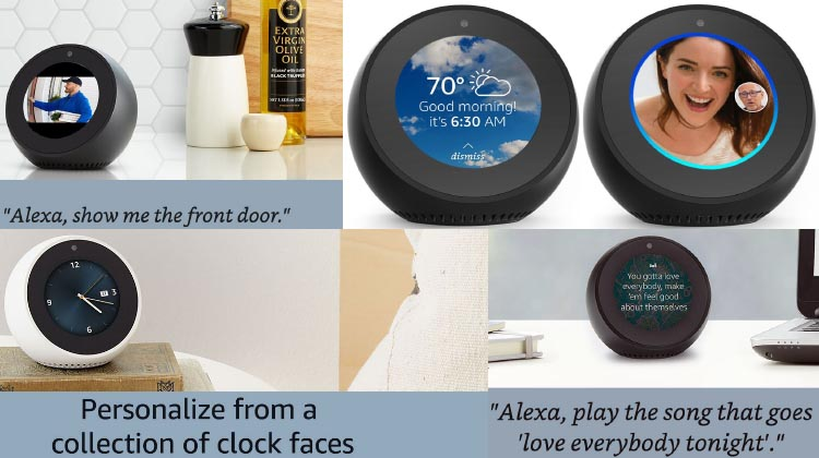 Amazon Announces the All New Echo Spot