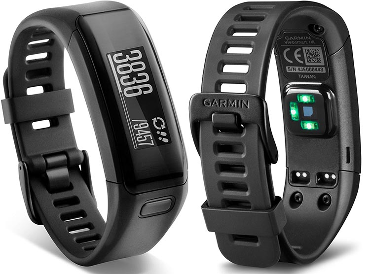 Garmin Vívosmart 3 activity tracker to be Used for Major Research Project. Two views of the Garmin vívosmart 3 activity tracker, which is about to used in a major research study, Project Tesserae