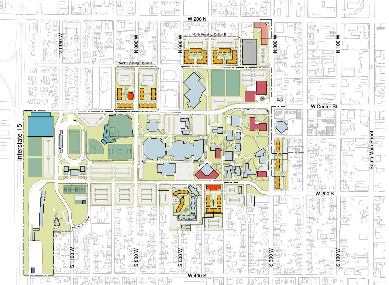 University Utah Housing