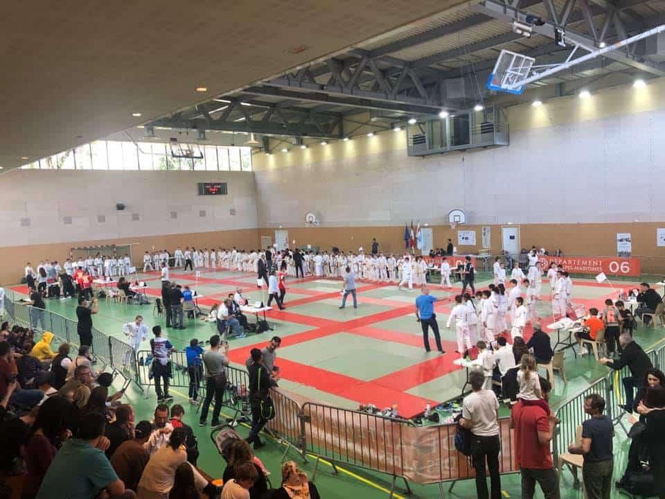 18 éme Tournoi Henry Courtine ajcm judo5