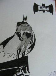 батман-рисунка