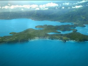 Puerto Galera from the air