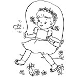 petite fille robe