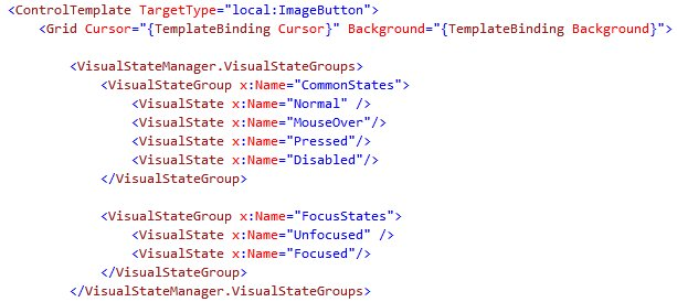Silverlight Bits&Pieces: The First Steps with Visual State Manager (4/6)