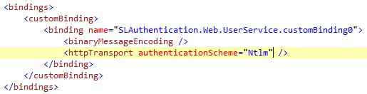 Silverlight and Integrated Authentication (6/6)
