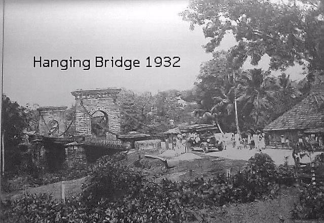 Punalur town hanging bridge