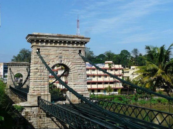 Punalur Suspension Bridge - History and Technology