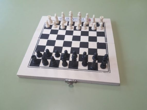 Tablero de ajedrez de regalo
