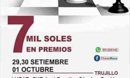 Setiembre cerrará con lindo torneo en Perú