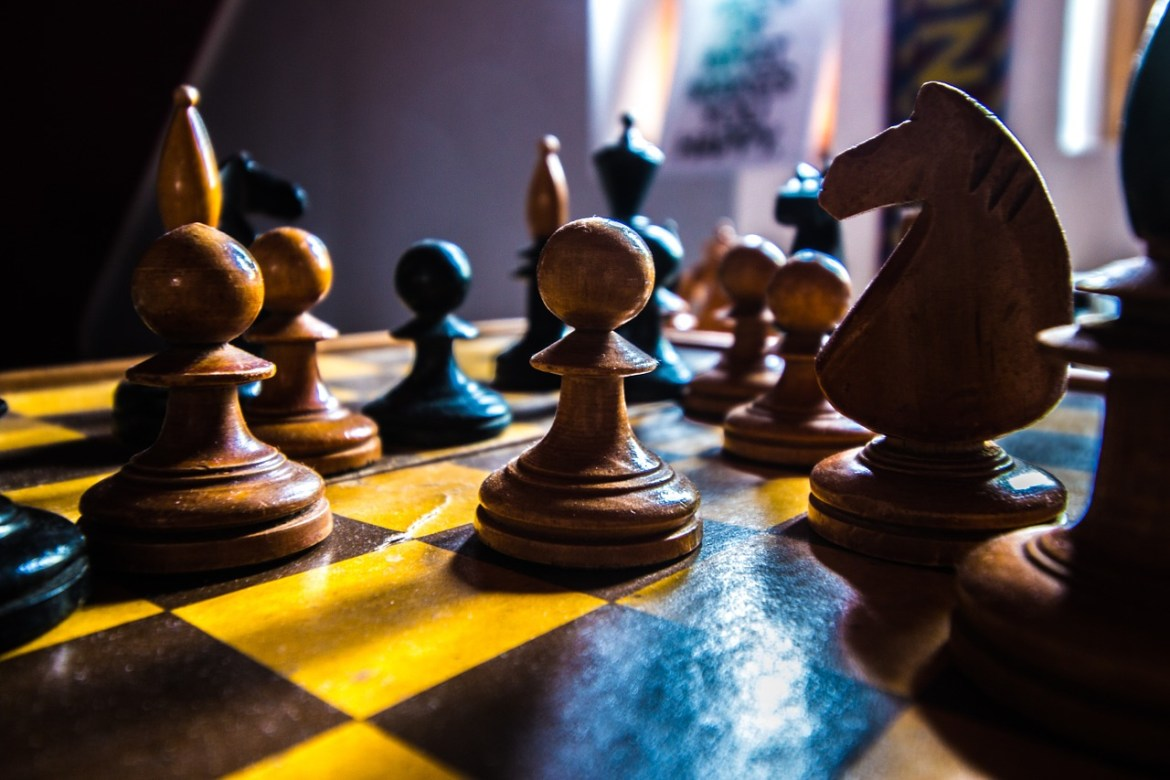 Chess White Board Game Strategy  - 2742255 / Pixabay