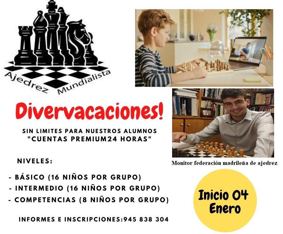 TALLERES DE AJEDREZ 29.CURSOS DE AJEDREZ