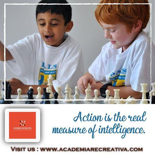 Academia de ajedrez para niños