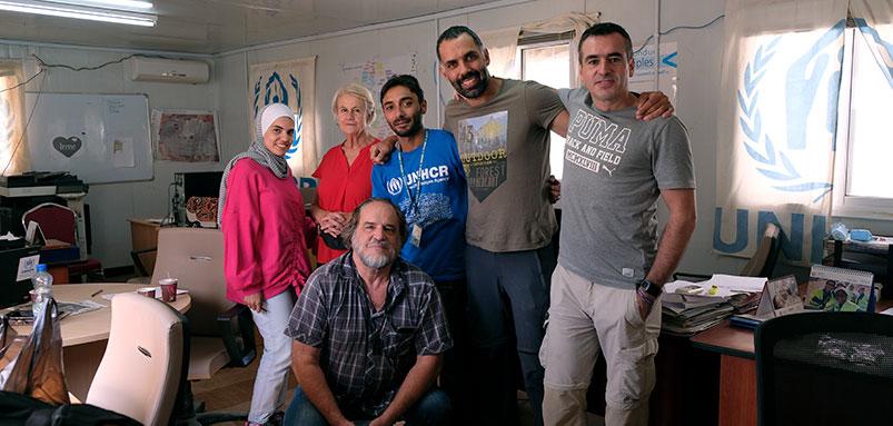 Colaboración con la Fundación Kasparov para volver a Zaatari en 2018