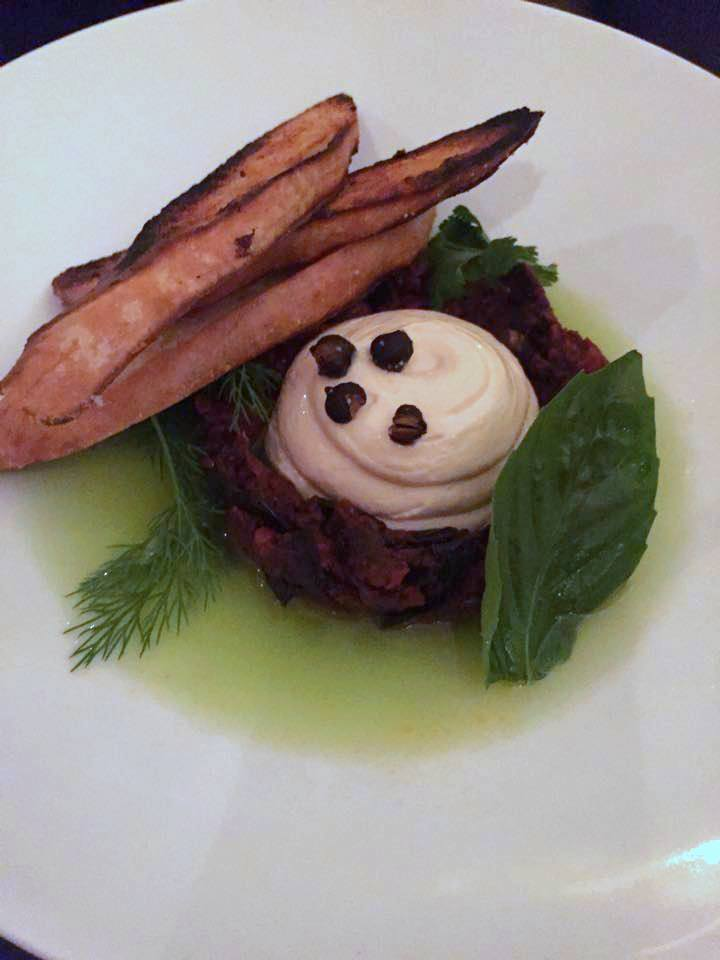 taramasalata w eggplant