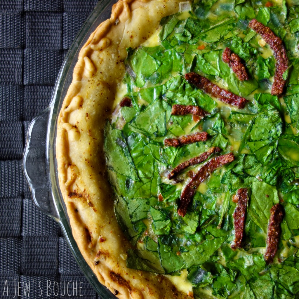 salami quiche Florentine from Fishbein SOT 10 AJB-1