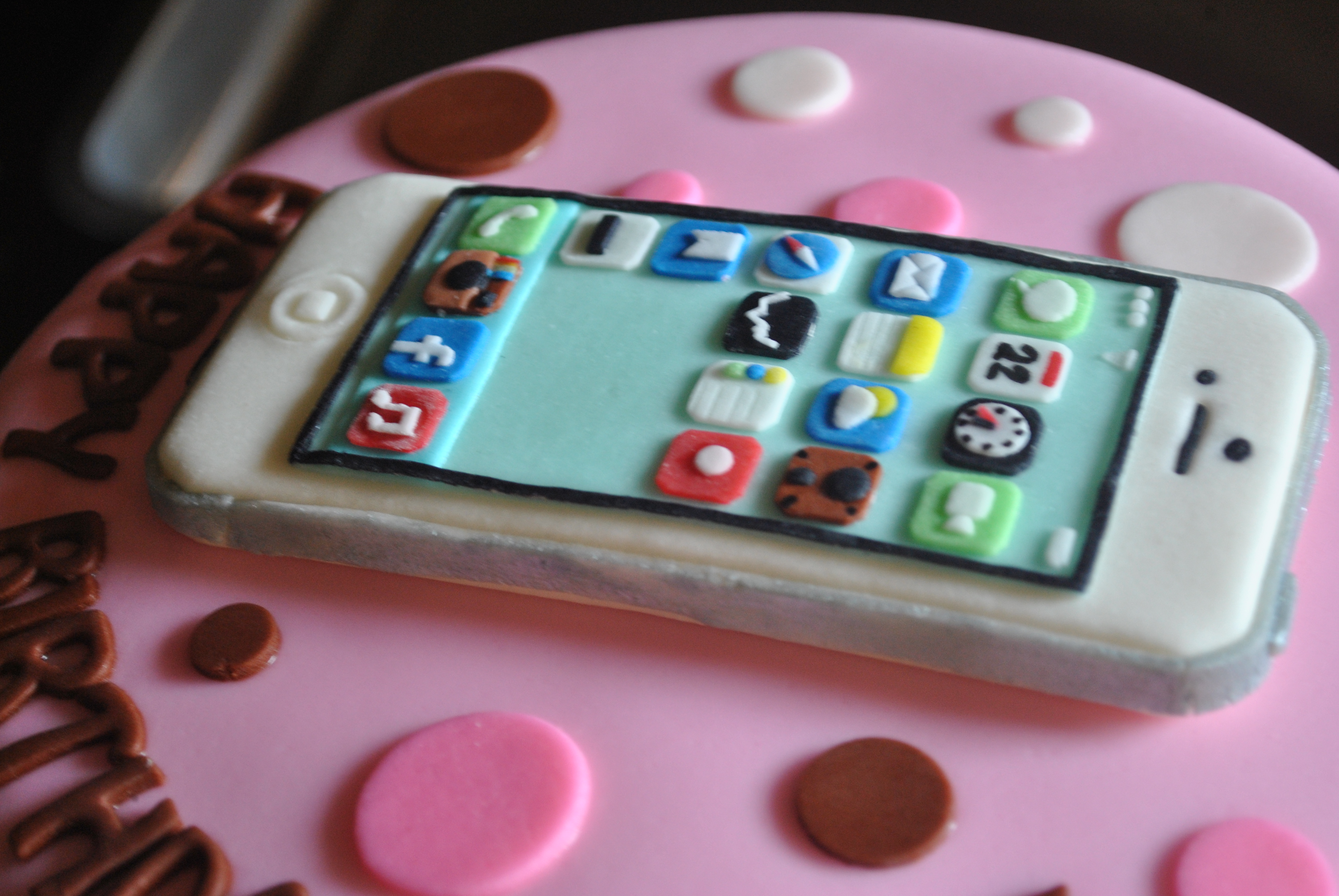 Iphone Cake For Lannie S 25th Birthday Aj Food Creations