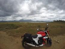 At the Kaveri reservoir