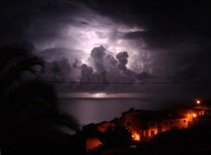 Thunder & lightning, Garajau Madeira