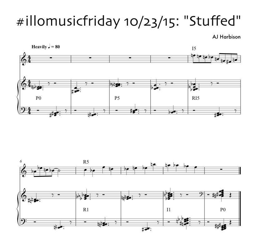"""#illomusicfriday 10/23/15: """"Stuffed"""""""