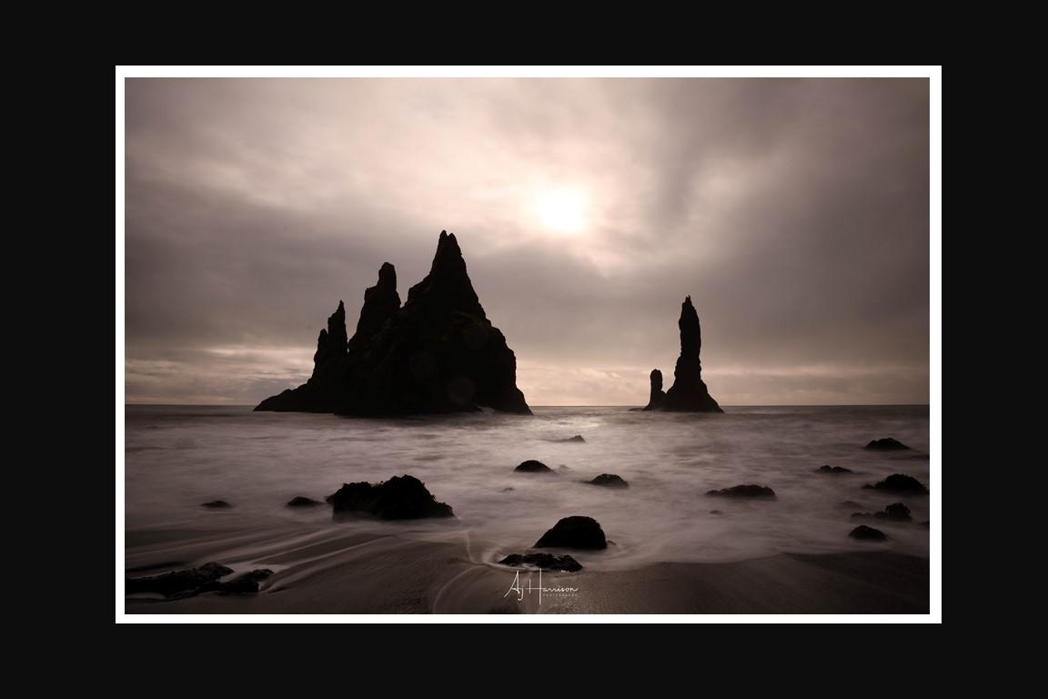 Reynisdranger Iceland Landscape