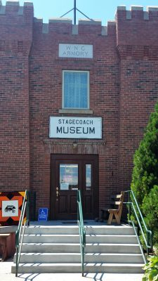 Entrance to museum
