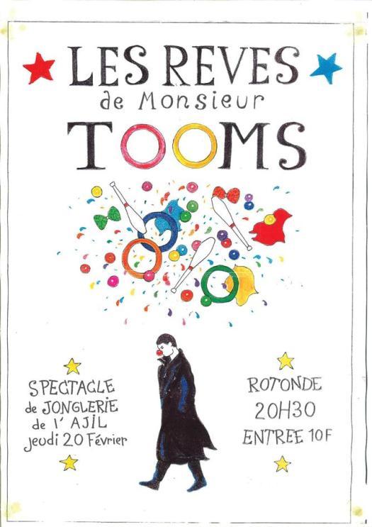 Les Rêves de Monsieur TOOMS