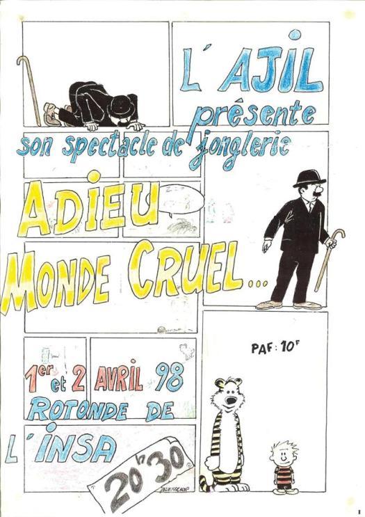 Adieu Monde Cruel...