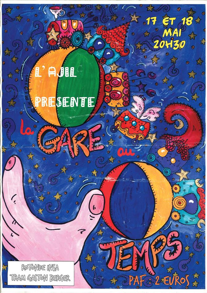 Affiche Spectacle 2004