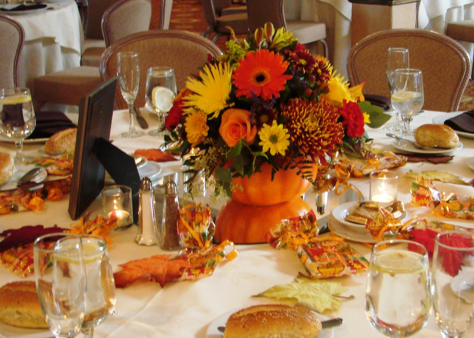 The Application Of Fall Wedding Ideas