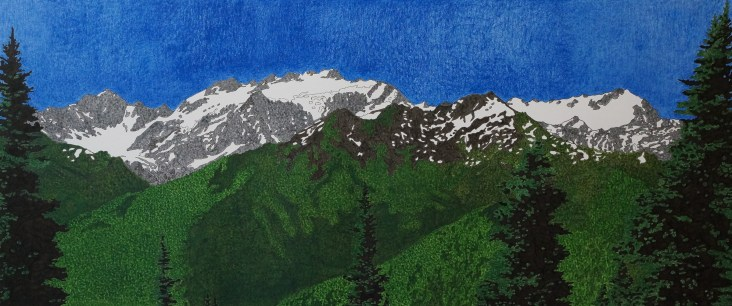 Mt Olympus from the High Divide