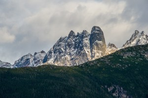 Haines Alaska, Peaks with New Snow by Allan J Jones Photography