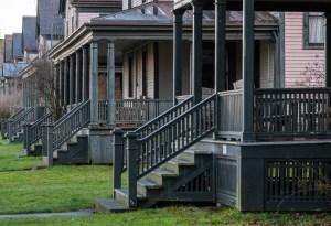 Fort Worden Officer Residences by Allan J Jones Photography