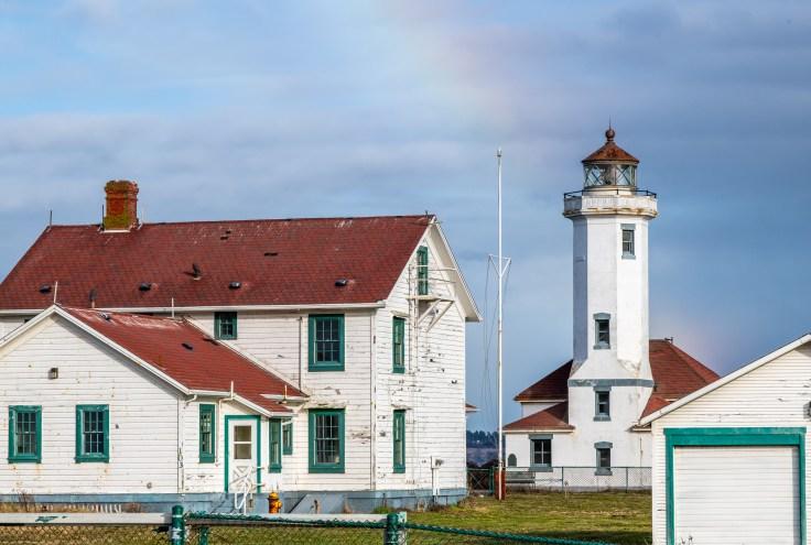 Point Madison Lighthouse by Allan J Jones Photography