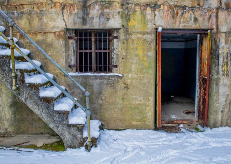 Snowy Bunker by Allan J Jones Photography