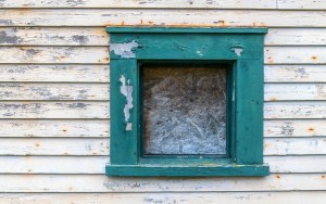 Window and Peeling Paint by Allan J Jones Photography