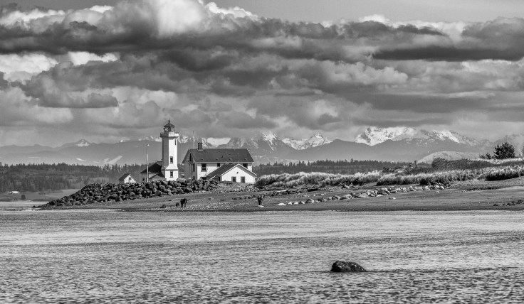 Point Wilson Lighthouse by Allan J Jones Photography