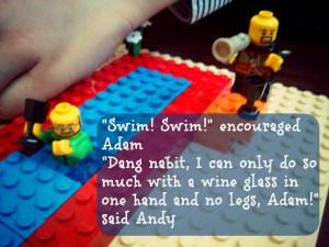 Lego Adam and Andy